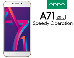 OPPO A71 2018 top