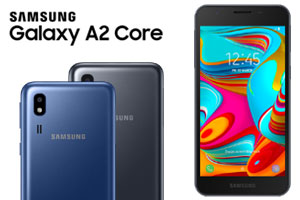 Samsung Galaxy A2 Core Colors