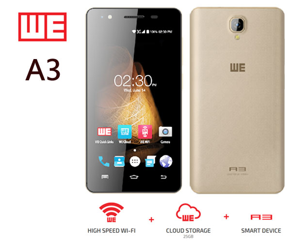 WE A3 Mobile Phone