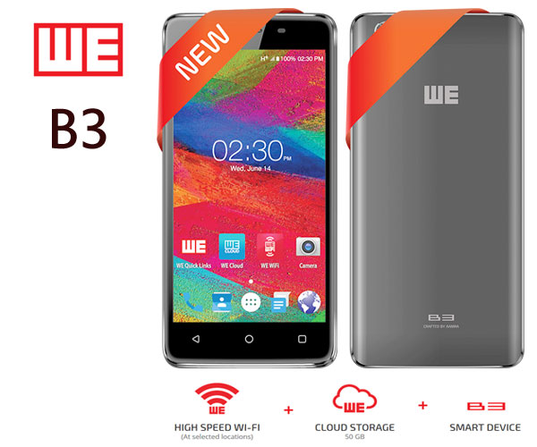 WE B3 Mobile Phone
