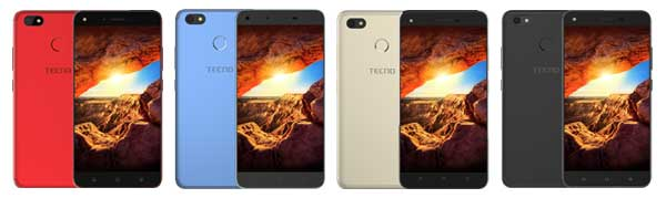 TECNO SPARK colors