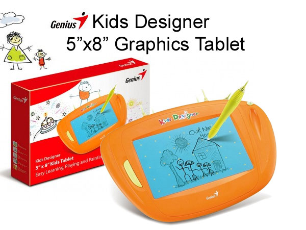 Genius Kids Designer Graphic Tablet